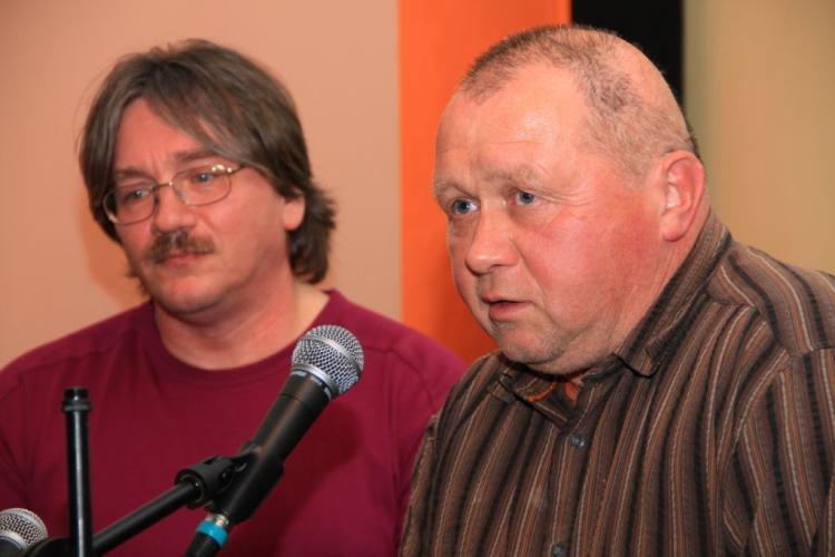 Manfred Wassmann und Matthias Wenzel (Bild: Markus Golletz)