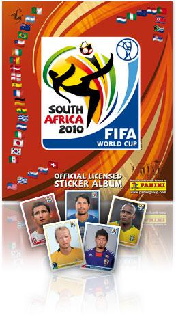 Panini Album WM 2010