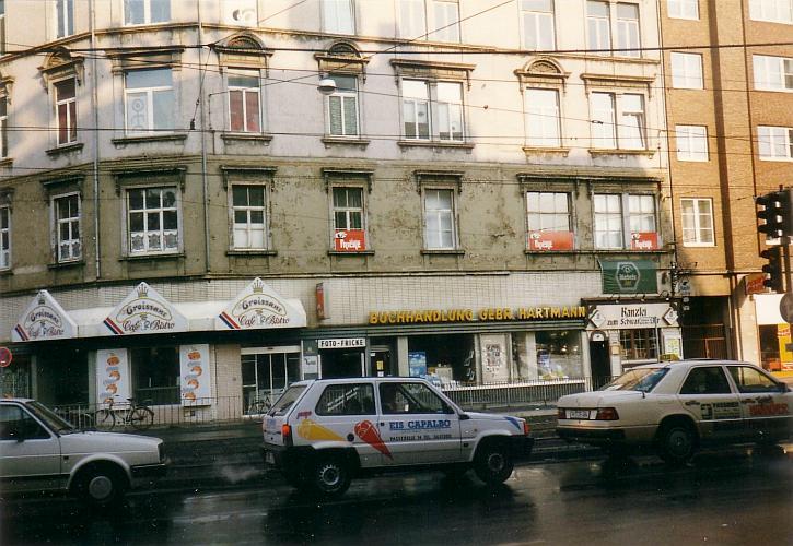 Schwarzer Bär 1991 mit der Buchahndlung Gebr. Hartmann (Foto: Jürgen Wessel)