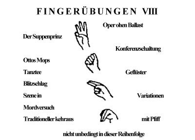 fingeruebungen
