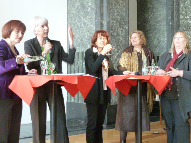 Caren Marks, Christine Kastning, Edelgard Bulmahn, Kerstin Tack, Regina Fischer