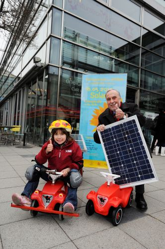 Solar Bobbycar Bausatz