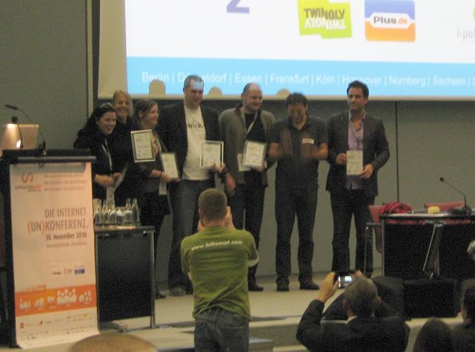 Preisträger des Sozial-Media-Preises 2010