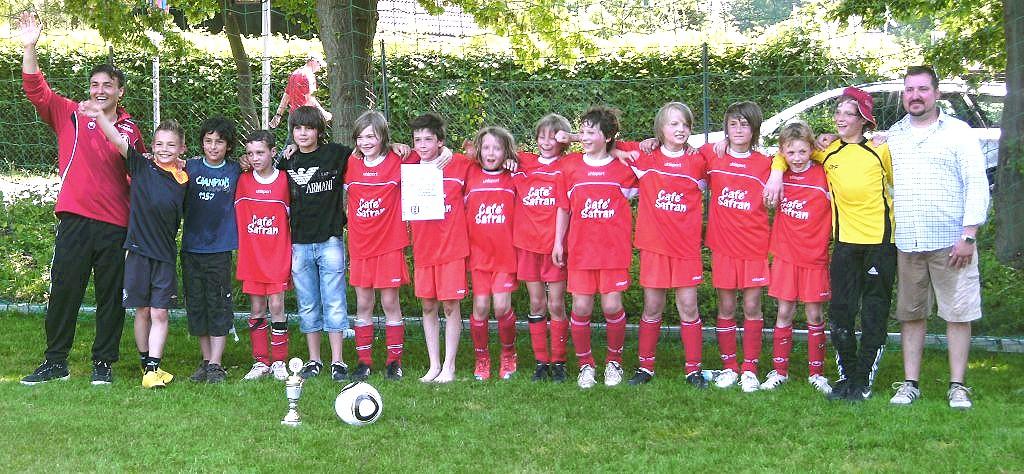 SG 74 E-Jugend Mannschaft