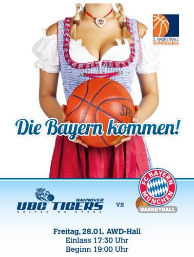 Die Bayern kommen