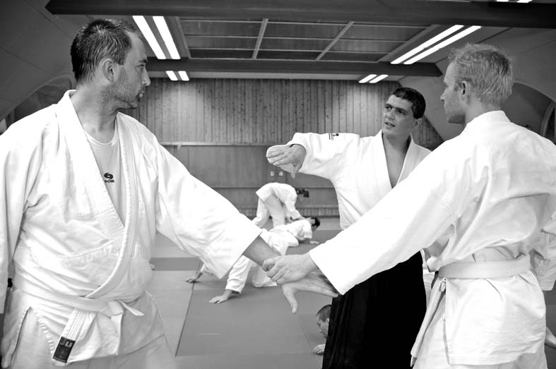 Aikido Training im Verein Kyushindo