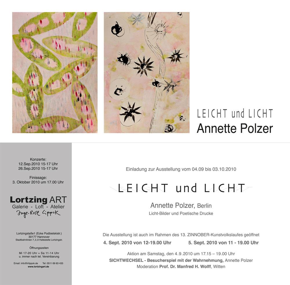 Ausstellung: Leicht und Licht