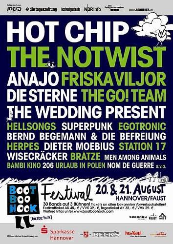 BootBooHook Plakat 2010