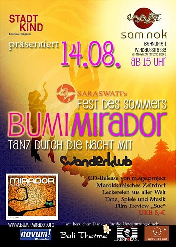 Fest des Sommers - Bumi Mirador