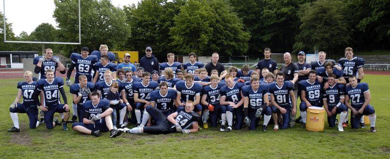 Das Team der Grizzlies (Foto: Lars Michael)