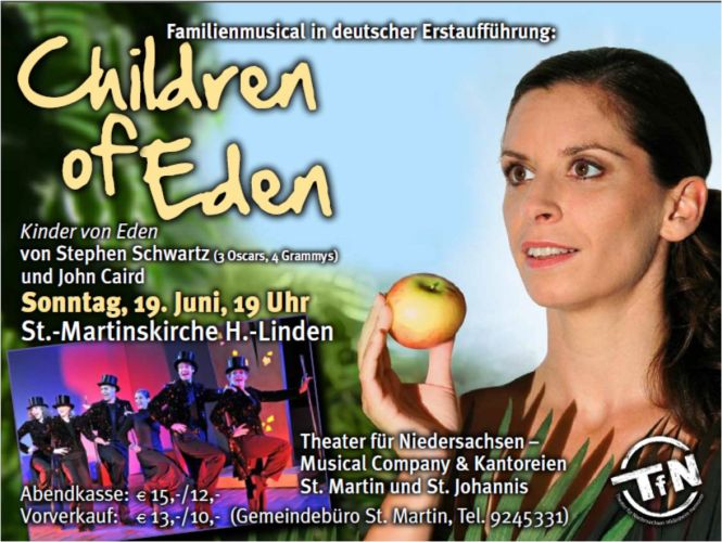 Musical Children of Eden