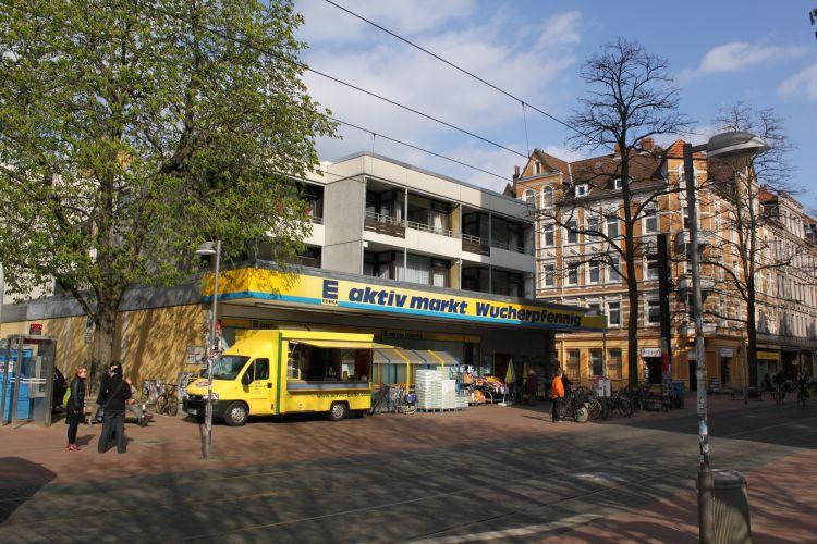 E aktiv markt Wucherpfennig auf der Limmerstraße