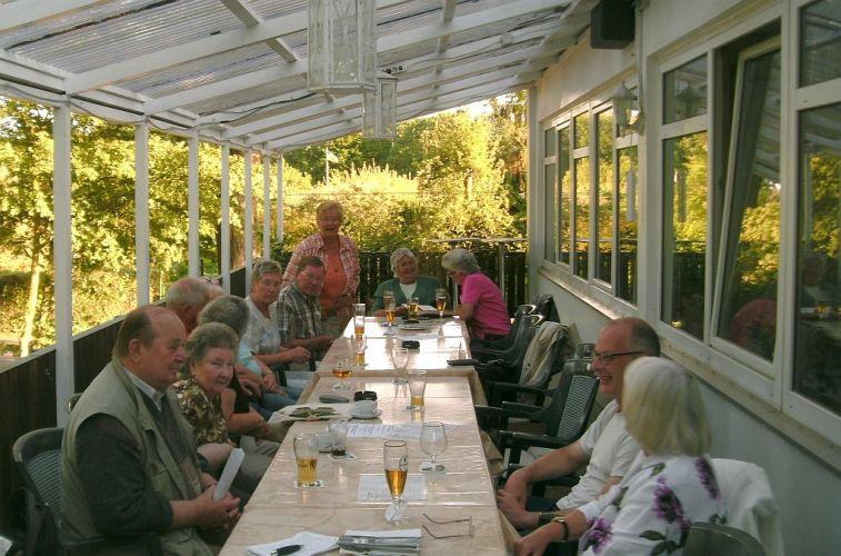 Gäste beim Erzählcafe