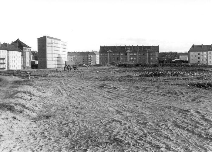 Baustelle Westschnellweg
