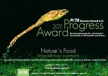 Peta Progress-Award