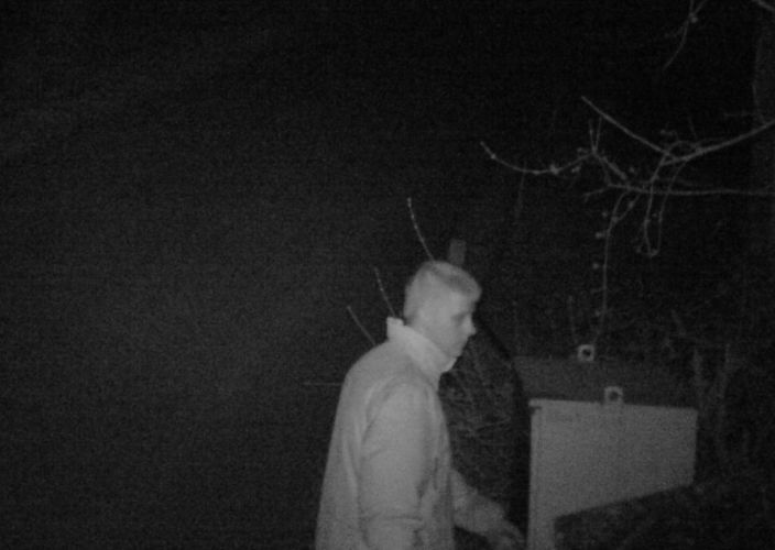 Bild aus der Überwachungskamera