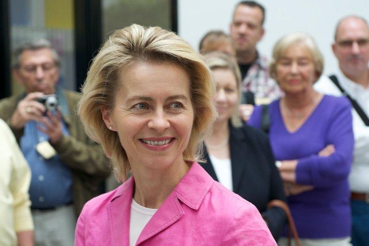 Bundesministerin für Arbeit und Soziales Ursula von der Leyen