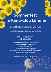 Sommerfest im Kanu-Club Limmer