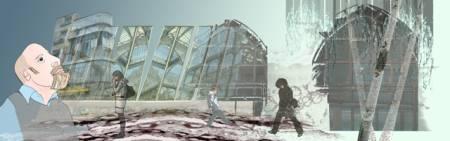 Emmanuelle Tanais Aupest - Die Träumer, Digitalcollage 2011
