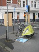 Wahlplakate am Lichtenbergplatz