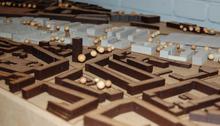 Modell des Siegerentwurfs von Birte Mügge (Bild: proKlima/Glombik)