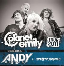 Planet Emily Tour 2011