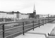 Westschnellweg im Bau (Foto: Horst Bohne)