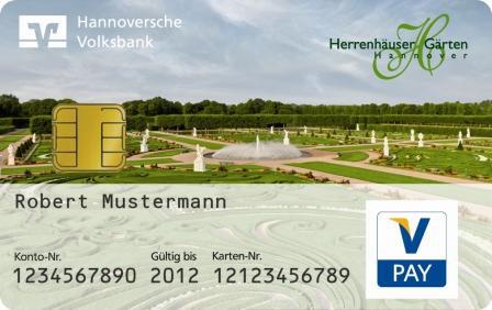 Großer Garten Ziert Bankcard Hannover Entdecken
