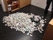 Beschlagnahmte Zigaretten