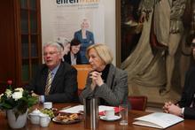 Ministerin Prof. Dr. Johanna Wanka und Klosterkammerpräsident Hans-Christian Biallas stellen neues Förderprogramm der Klosterkammer vor