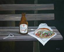 Lindener Abendmahl / Acryl 2012