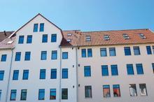 Die beiden nebeneinander liegenden Altbauten am Allerweg in Hannover-Linden wurden mit proKlima-Unterstützung energetisch modernisiert. Dabei kamen Passivhaus-Komponenten zum Einsatz. (Foto: proKlima)