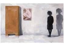 "Jens Hoff: ""Perfect Artist"", Öl auf Leinwand, 90 x 120 cm, 2006"
