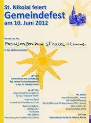 Gemeindefest St. Nikolai 2012