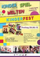 KinderSpielWelten Jubiläum 2012