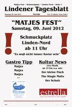 Matjesfest 2012