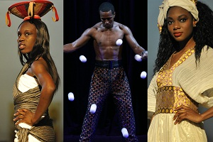 Solomonic Fashion Show Pressefoto