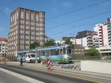 Hochbahnsteig Schwarzer Bär