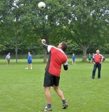 Faustball bei der SG 74
