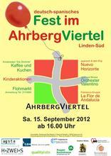 Deutsch-spanisches Fest im AhrbergViertel