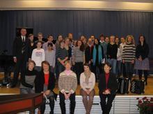 KlavierschülerInnen der Musikschule