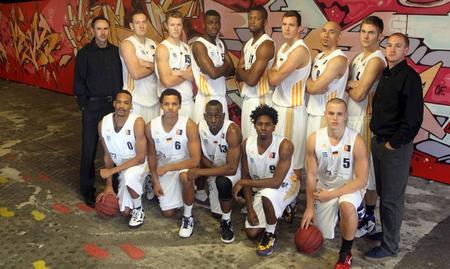 Team der UBC Tigers Saison 2012/13