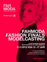 Modelcasting für die Fahmoda Fashion Finals 2013