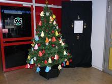 Weihnachtswunschbaum im Freizeitheim Linden