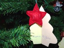 Weihnachtswunsch am Wunschbaum