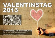 Valentinstag 2013 in der Bethlehemkirche