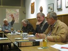 Der neue Vorsitzende Dieter Schirrmeister (2. von rechts)