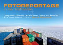 Reise auf einem Containerschiff