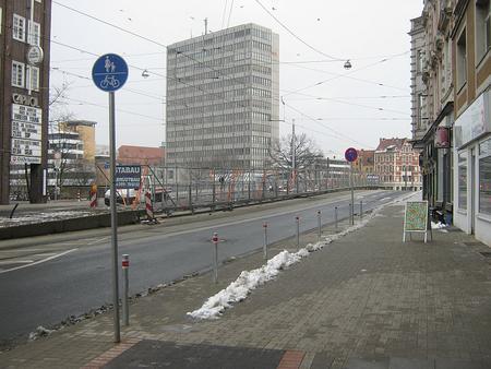 Fuß- und Radweg - Kein Parkplatz