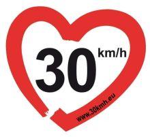 30kmh - macht die Straßen lebenswert!